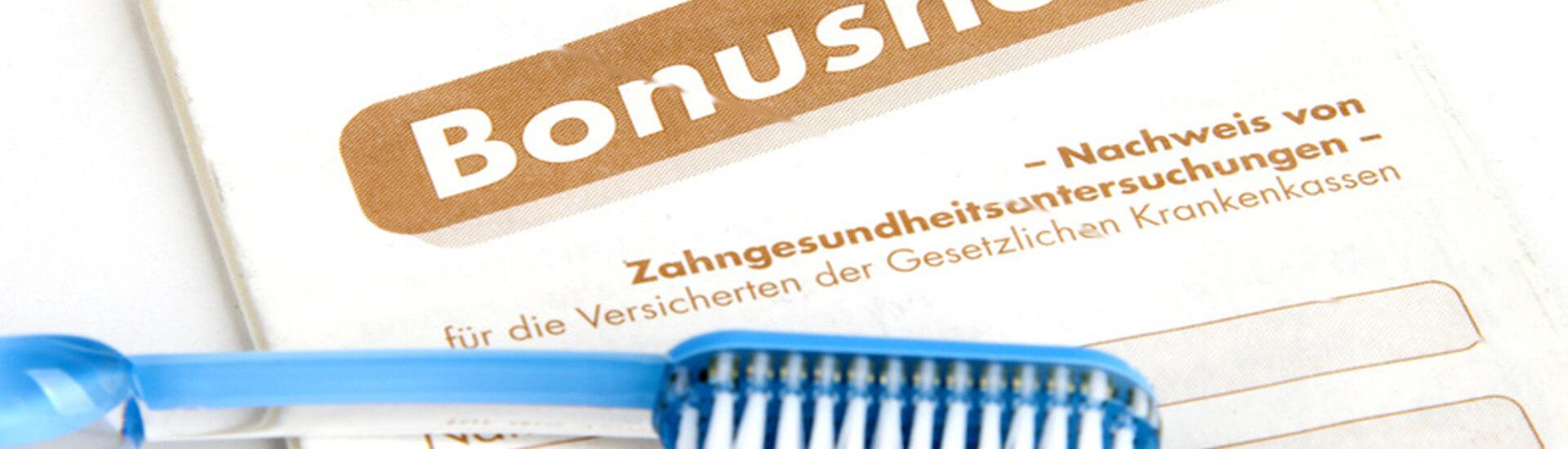 Das Zahnarzt-Bonusheft: Regelmäßigkeit wird belohnt